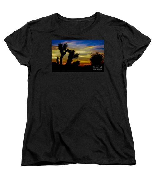 First Light Women's T-Shirt (Standard Cut) by Angela J Wright