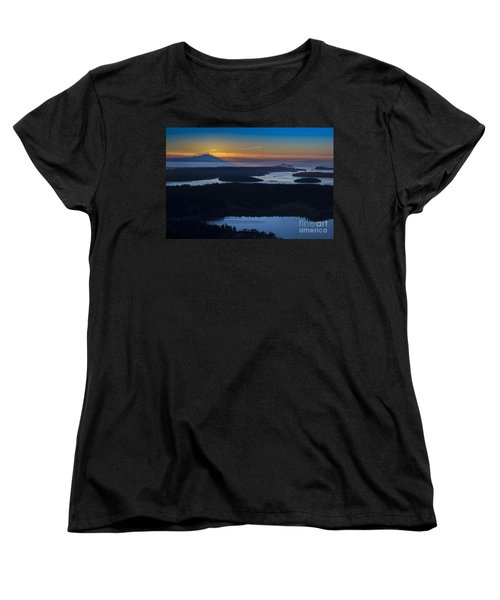 First Light Women's T-Shirt (Standard Cut) by Sonya Lang