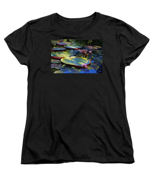 First Morning Light Women's T-Shirt (Standard Cut) by John Lautermilch
