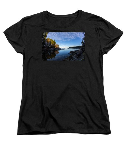 Fish Eye View Women's T-Shirt (Standard Cut) by Randy Hall
