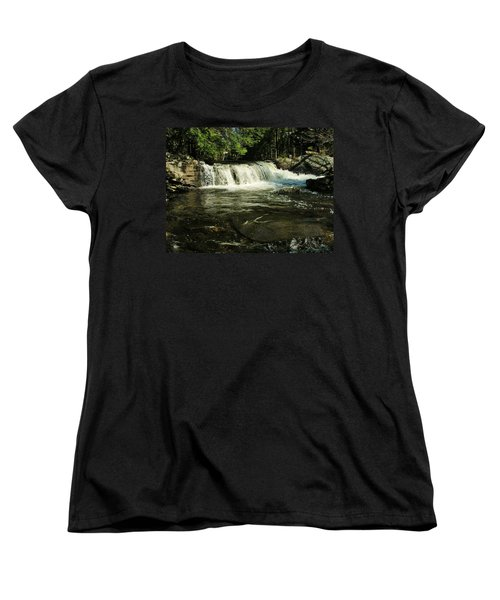 Women's T-Shirt (Standard Cut) featuring the photograph Fishing Hole by Sherman Perry
