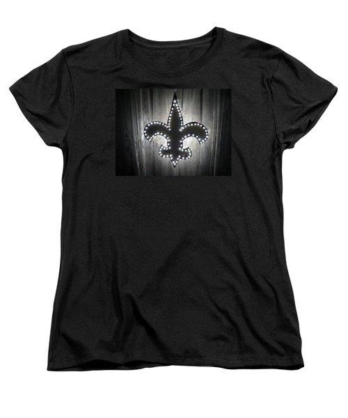 Fleur De Light Women's T-Shirt (Standard Cut) by Deborah Lacoste