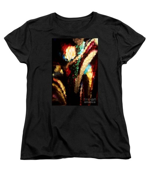 Women's T-Shirt (Standard Cut) featuring the photograph Floral Abstract I by Sharon Elliott