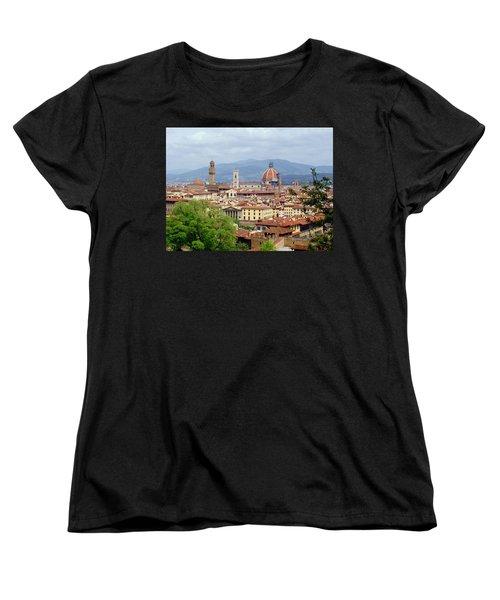 Florence Women's T-Shirt (Standard Cut) by Ellen Henneke