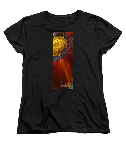 Women's T-Shirt (Standard Cut) featuring the photograph Flower by Andy Prendy