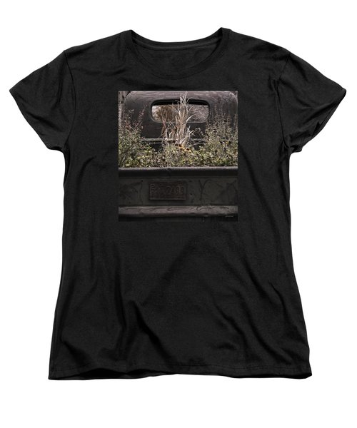 Flower Bed - Nature And Machine Women's T-Shirt (Standard Cut) by Steven Milner