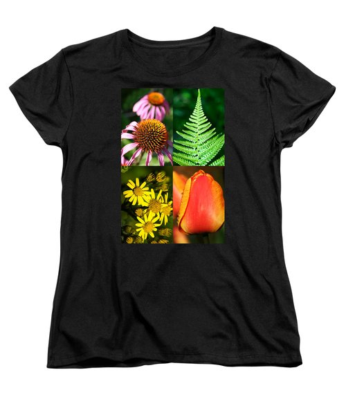 Flower Photo 4 Way Women's T-Shirt (Standard Cut) by Richard Thomas