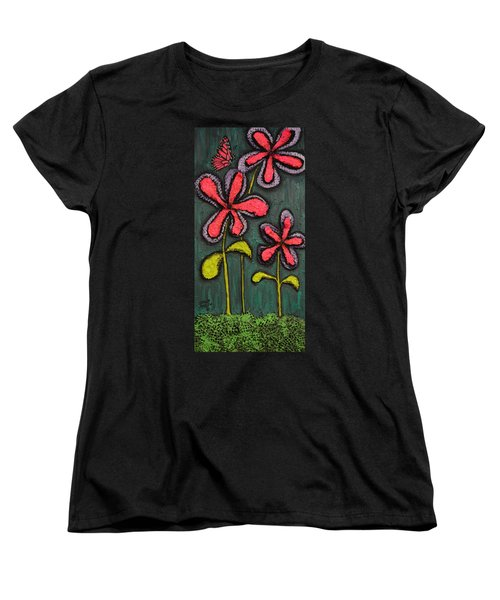 Flowers For Sydney Women's T-Shirt (Standard Cut) by Shawn Marlow