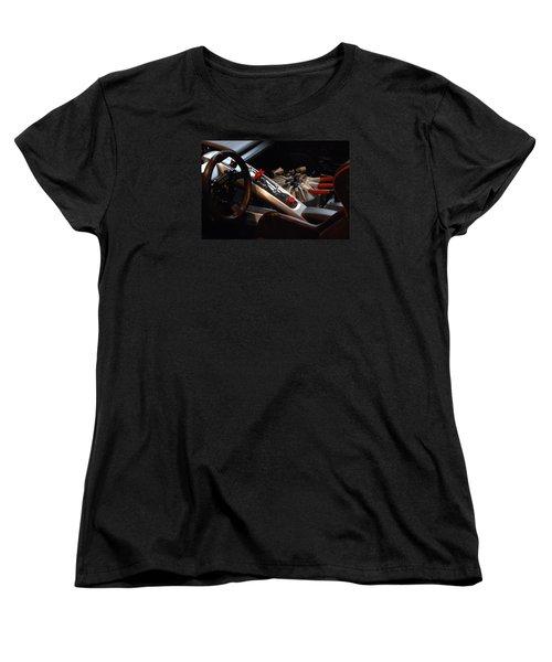 Women's T-Shirt (Standard Cut) featuring the photograph Flux Capacitor by John Schneider