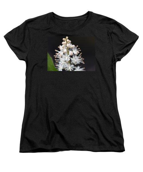 Foam Flower Women's T-Shirt (Standard Cut) by Melinda Fawver