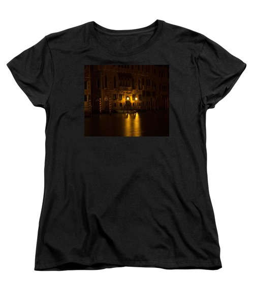 Follow Me Across The Water And Time Women's T-Shirt (Standard Cut) by Alex Lapidus
