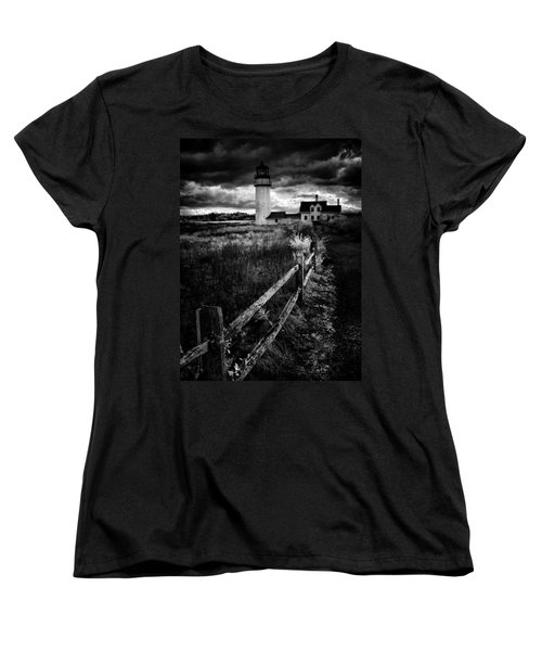 Follow Me Women's T-Shirt (Standard Cut) by Robert McCubbin