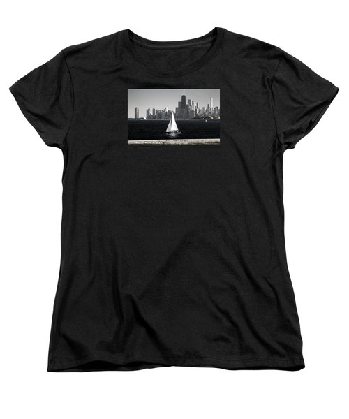 Women's T-Shirt (Standard Cut) featuring the photograph Follow Your Dream by Milena Ilieva
