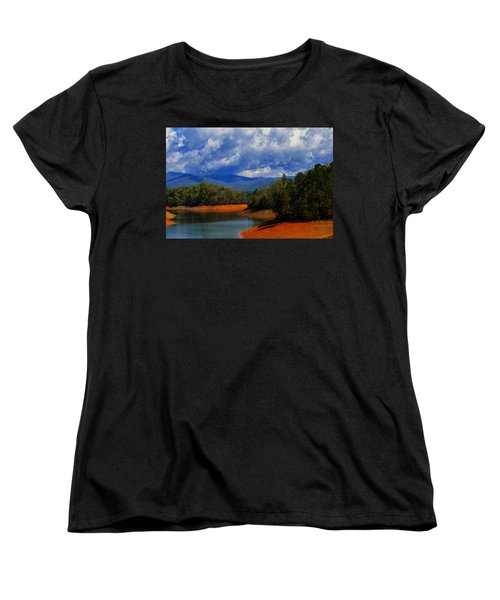 Fontana Lake Storm Women's T-Shirt (Standard Cut)