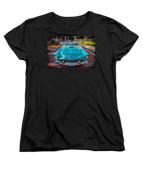 Ford Thunderbird  Women's T-Shirt (Standard Cut) by Adrian Evans
