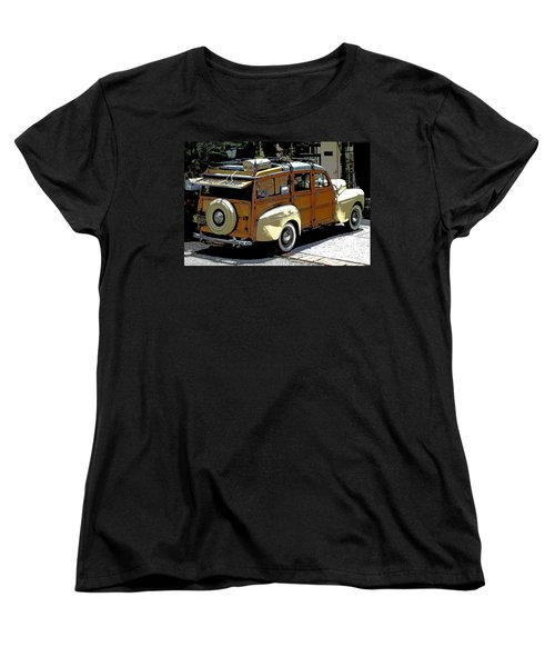 Ford Woodie Women's T-Shirt (Standard Cut)