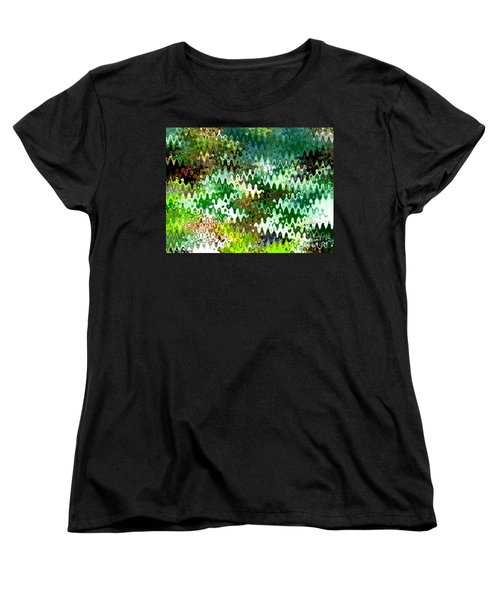 Women's T-Shirt (Standard Cut) featuring the photograph Forest by Anita Lewis