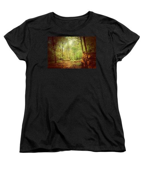 Forest Women's T-Shirt (Standard Cut) by Daniel Precht