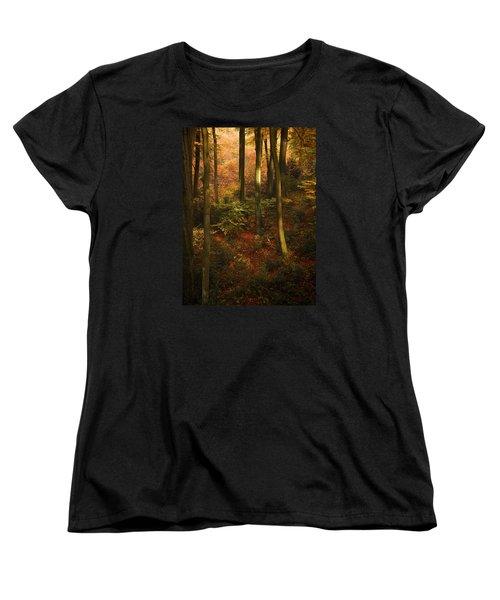 Forest Deep No. 2 Women's T-Shirt (Standard Cut) by Richard Cummings