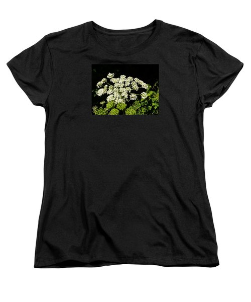 Women's T-Shirt (Standard Cut) featuring the photograph Forest Lace by VLee Watson