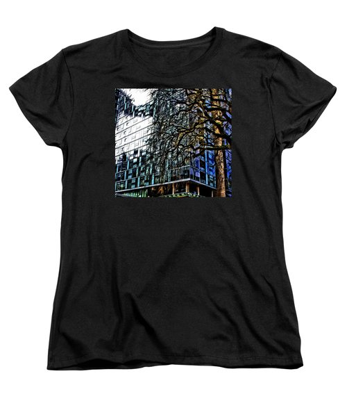 Form V. Function Women's T-Shirt (Standard Cut) by Terence Morrissey