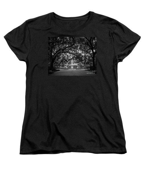 Forsyth Park Women's T-Shirt (Standard Cut) by Perry Webster