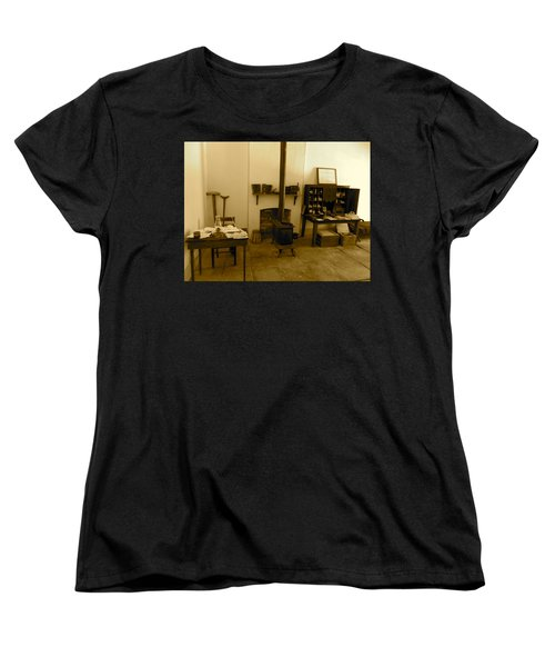 Fort Delaware General Office Women's T-Shirt (Standard Cut) by Amazing Photographs AKA Christian Wilson