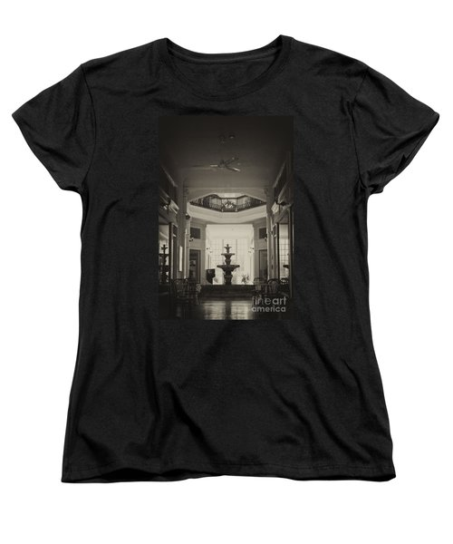 Fountain In The Light Women's T-Shirt (Standard Cut) by Donna Greene