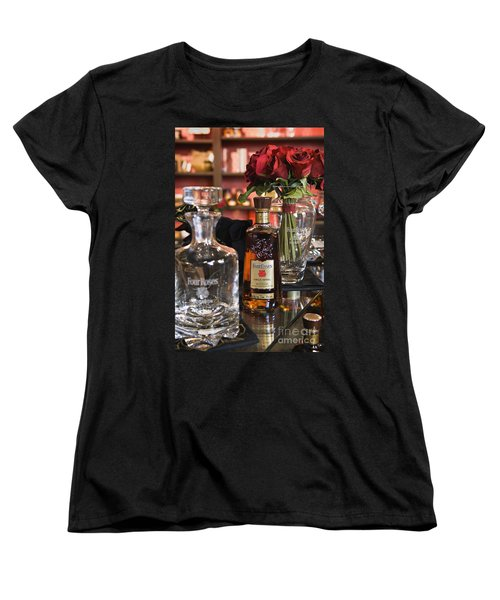 Four Roses Single Barrel - D008612 Women's T-Shirt (Standard Cut) by Daniel Dempster
