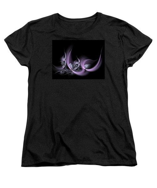 Fractal Fruits Women's T-Shirt (Standard Cut) by Gabiw Art