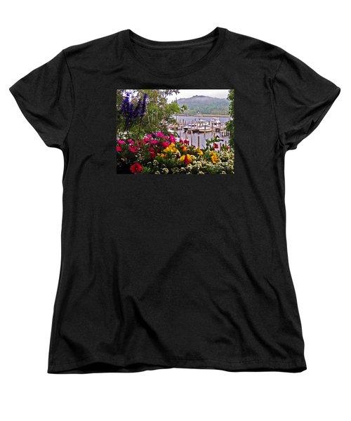 Fragrant Marina Women's T-Shirt (Standard Cut) by Lydia Holly