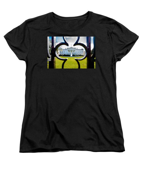 Framed Whitehouse Women's T-Shirt (Standard Cut)