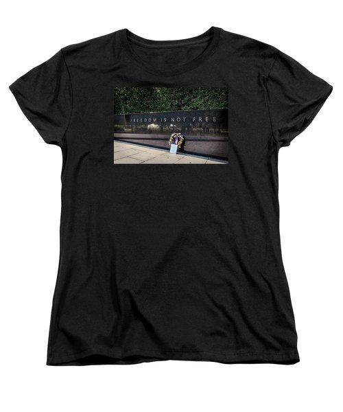 Freedom Is Not Free Women's T-Shirt (Standard Cut) by Sennie Pierson