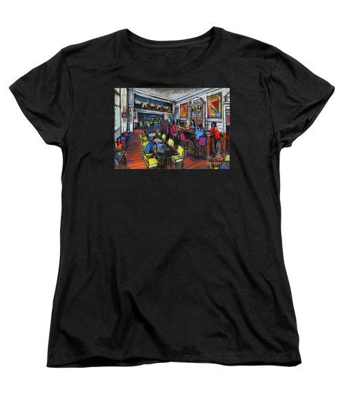 French Cafe Interior Women's T-Shirt (Standard Cut)