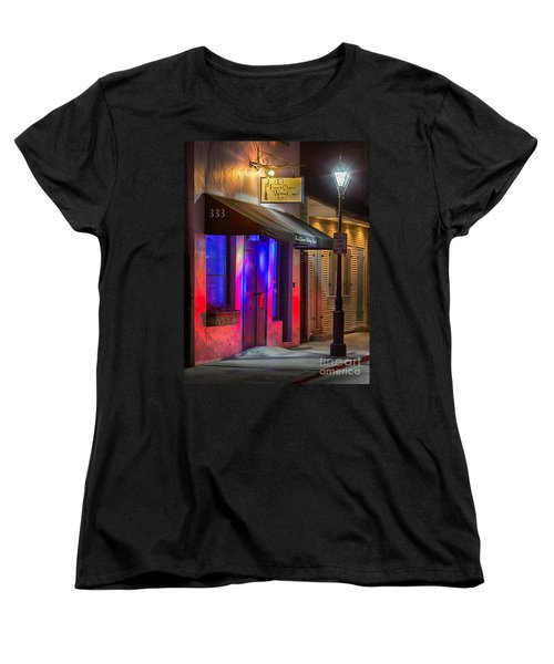 French Quarter Wedding Chapel Women's T-Shirt (Standard Cut) by Jerry Fornarotto