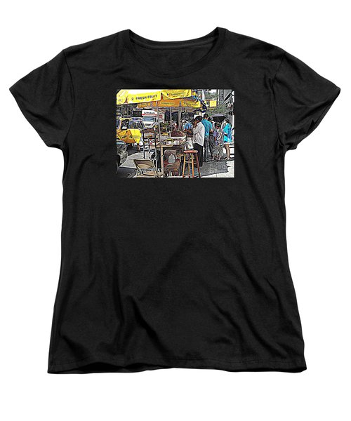 Fresh Fruit Women's T-Shirt (Standard Cut) by Miriam Danar