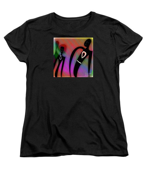 Friends Women's T-Shirt (Standard Cut) by Iris Gelbart