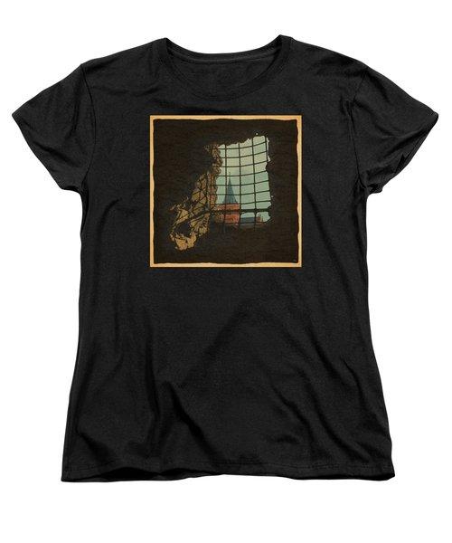 From A Castle Women's T-Shirt (Standard Cut) by Meg Shearer