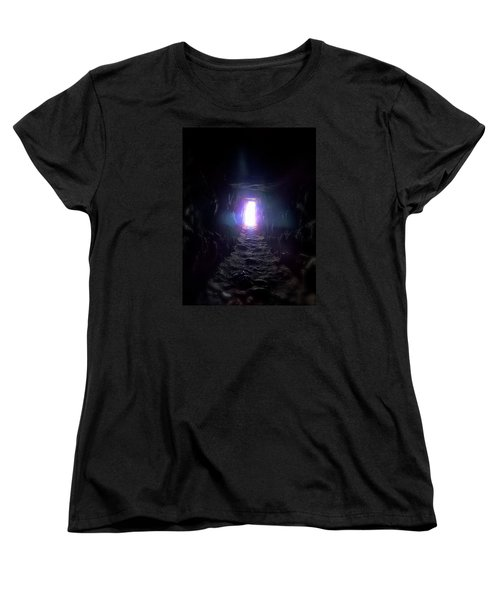 From Dark To Bright Women's T-Shirt (Standard Cut)