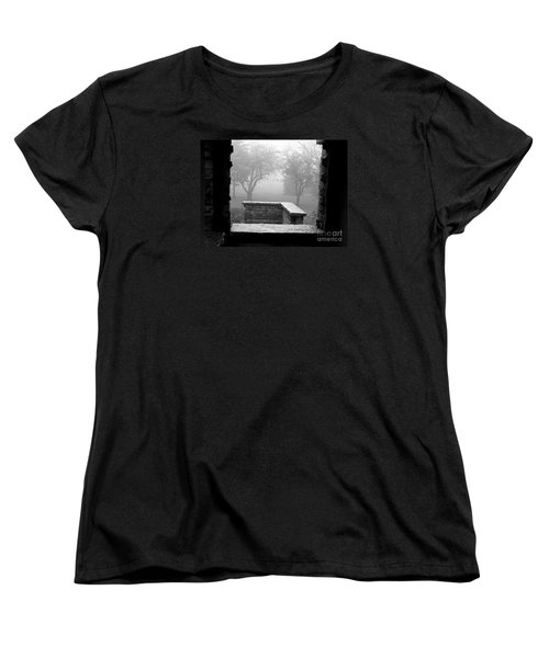 From The Window Women's T-Shirt (Standard Cut) by Susan  Dimitrakopoulos