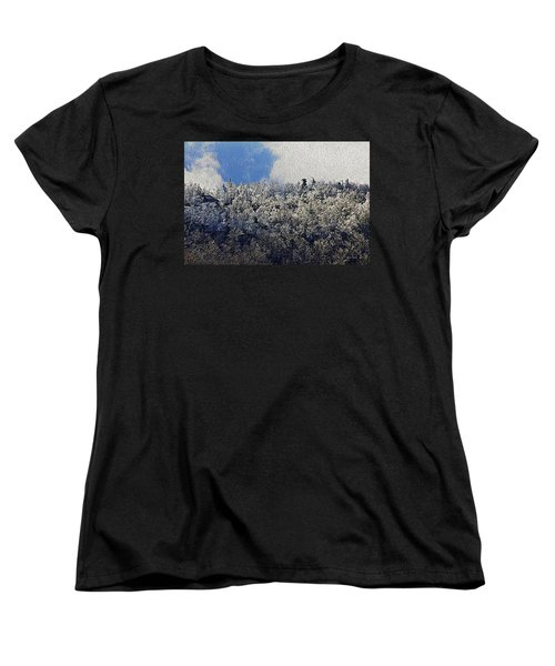 Frost Line 2 Women's T-Shirt (Standard Cut) by Tom Culver