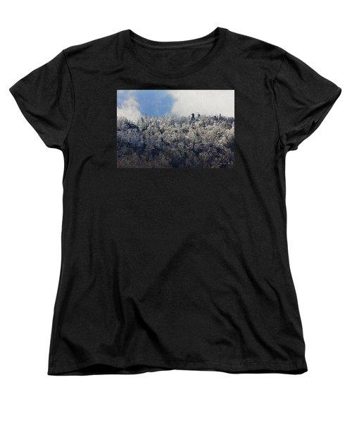 Frost Line Women's T-Shirt (Standard Cut) by Tom Culver