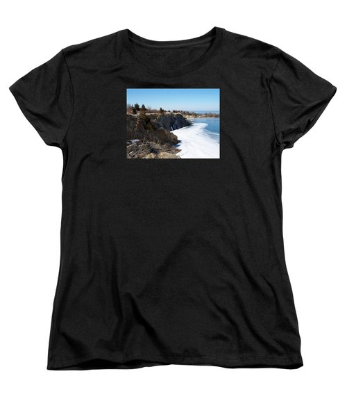 Frozen Quarry Women's T-Shirt (Standard Cut) by Catherine Gagne