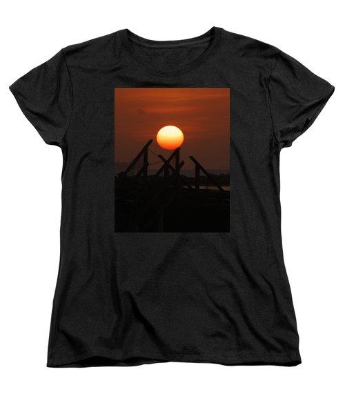 Women's T-Shirt (Standard Cut) featuring the photograph Full Sun by Leticia Latocki