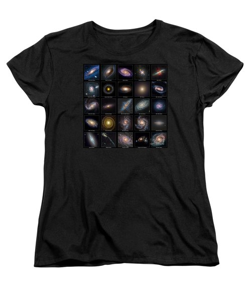 Galaxy Collection Women's T-Shirt (Standard Cut) by Antony McAulay