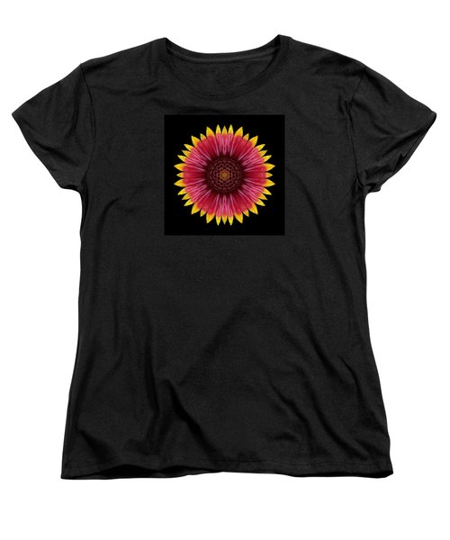 Galliardia Arizona Sun Flower Mandala Women's T-Shirt (Standard Cut) by David J Bookbinder