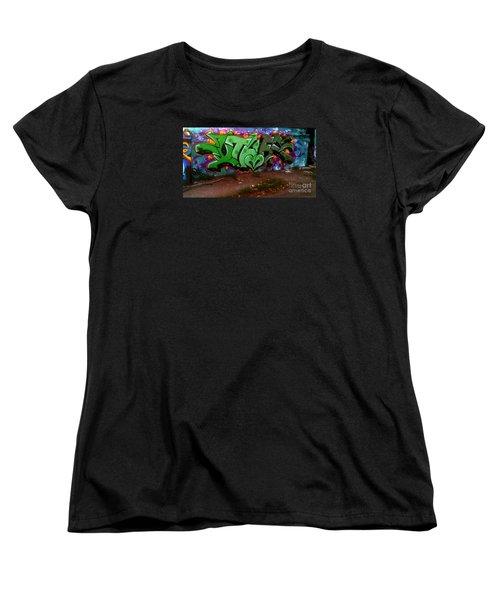Garage Art Women's T-Shirt (Standard Cut)