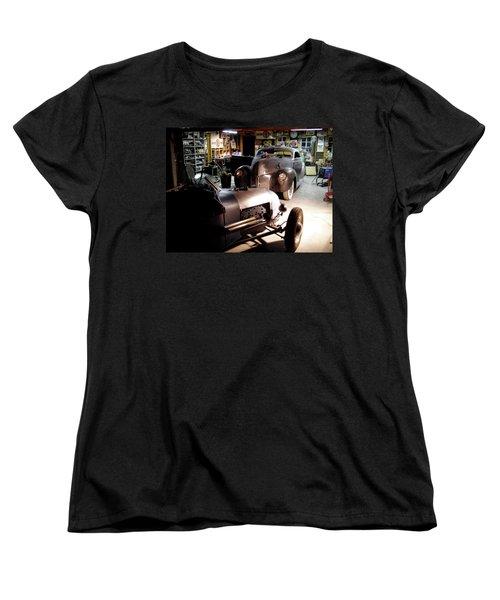 Garage Tour Women's T-Shirt (Standard Cut) by Alan Johnson