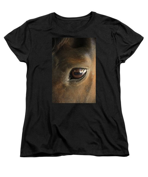 Gateway To A Horses Soul Women's T-Shirt (Standard Cut) by Shoal Hollingsworth