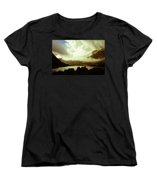 Gathering Clouds  Women's T-Shirt (Standard Cut) by Lana Enderle